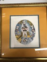 George Crionas Lithograph The Cook 4 Clown Chef 11.5 x 13 in Signed Limited