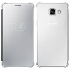 100% Official Genuine Samsung Galaxy A5 (2016 Edition) Clear View Case Silver