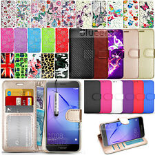 For Huawei Honor 6A DLI-AL10 -Wallet Leather Case Flip Cover + Screen Protector