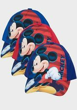 BOYS GIRLS KIDS CHARACTER HATS BASEBALL CAPS - MARVEL MICKEY FROZEN CAP