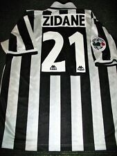 Authentic Zidane Juventus 1996 1997 Jersey Shirt Camiseta Maglia Real Madrid XL