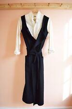 Vtg Comme des Garcons robe de chambre wool wrap dress y's runway pc la garconne