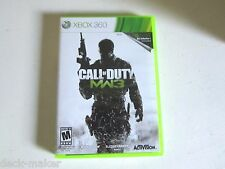 Call of Duty: Modern Warfare 3 (Microsoft Xbox 360, 2011) Disc is perfect