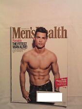 MEN'S HEALTH MAGAZINE SEPTEMBER 2014 CRISTIANO RONALDO SHIRTLESS 28-Day Abs