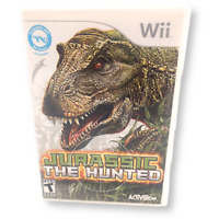 Jurassic: The Hunted Game Complete! With Manual Nintendo Wii