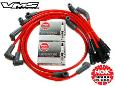 VMS RACING 10.2MM SPARK PLUG WIRE SET 94-96 CHEVROLET CAPRICE LT1 W/ NGK V-POWER