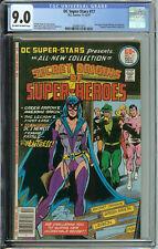 DC Super-Stars # 17 CGC 9.0 ow/wp Intro of the Huntress