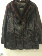 Vintage Ladies Mink Jacket Shawl Collar - Fast n Free