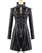 Knee Length Zip Military Coats & Jackets for Women