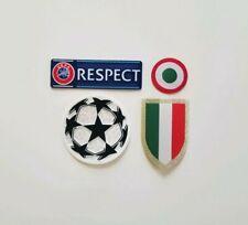 Cristiano Ronaldo Champions League Soccer Patch Juventus Scudetto Copa Italia