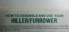 Troy-Bilt PONY Roto Tiller (4 items) Miscellaneous Manuals Garden-Way Some Horse