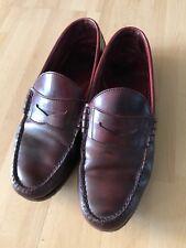 Super elegante Timberland Herren Loafer, Gr. 44, Bordeaux, Dunkelrot