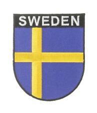 Schweden Wappenpatch 8 * 6,5 cm, Patch, Flagge, Aufnäher