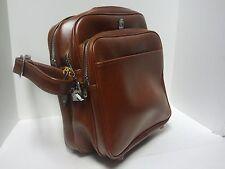 VINTAGE US LUGGAGE MESSENGER TRAVEL LAPTOP SHOULDER BAG With BUCKLE LOCK & KEY