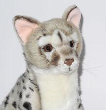 Neuware wunderschöne sitzende Ginsterkatze Katze ca. 27cm groß
