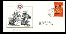 "Bi-48 Turks And Caicos 1976 Commemorating ""American Bi-Centennial"" Fdc"