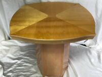Beautiful Art Deco French Style Bow Fronted Coffee Table Living Room