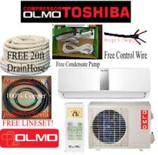 OLMO-TOSHIBA(Compressor)18K btu 1.5 ton Mini Split  Heat Pump 220V +Free Extras