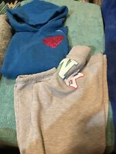 Victoria Secret Pink Size Small(both)Hoodie and Calf High Sweat Pants