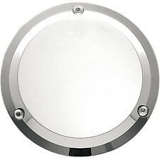 Chrome 3 Hole Derby Cover for Harley Davidson Big Twin Motorcycles (1970-1998)