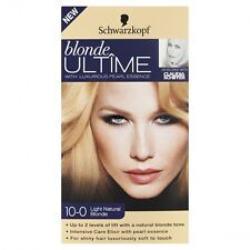 2X Schwarzkopf Blonde ULTIME Permanent Colour 10-0 Light Natural Blonde