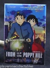 "From Up On Poppy Hill Movie Poster 2"" X 3"" Fridge Magnet. Japanese Anime"