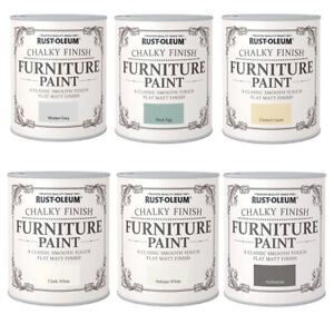 Rust-Oleum Chalky Finish Furniture Paint 125ml or 750ml