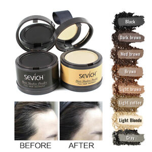 Sevich Waterproof Hair Line Powder Hairline Cover Up Powder Hair Shadow 8 Colors