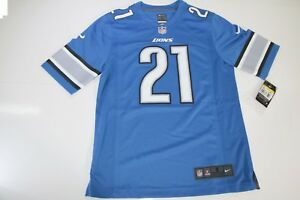 T-Shirt (SKU018) TAILLE.S Detroit Reggie Lions Bush N.21 NIKE NFL