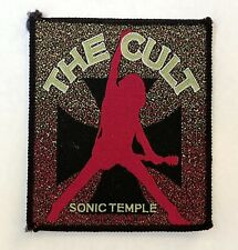 THE CULT SONIC TEMPLE 1989 patch