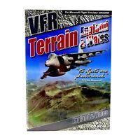 Flight Simulator VFR terrain England & Wales PC CD Rom FS2002 & 2004 MInt Disc