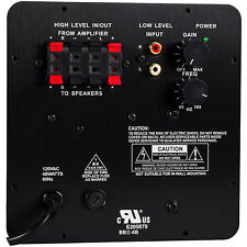 NEW Subwoofer Amplifier.25w.Speaker Amp.Replacement.Woofer BASS Power Plate.