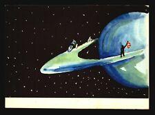 Space Postcard - Early Russian Cartoon PPC (I) - L530