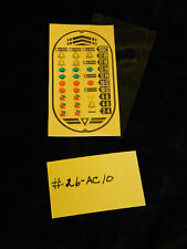 JENNINGS OVAL VARIABLE PAPER AWARD CARD FOR ANTIQUE SLOT MACHINE #26-AC-10