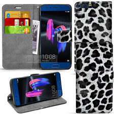 For Huawei Honor 9 - Wallet Leather Case Flip Book Stand Cover+ Screen Protector