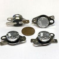 4 Pieces N/C 75ºC 167ºF normally closed Thermal  Thermostat switch KSD301 C26