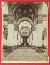 118-ALBUMNA <ITALIA_PADOVA> CHIESA DI S. CIUSTINA L'INTERNO Nº 14988 (19x25cm)