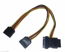 Internal Y-Power Cable SATA to sata/m sata/F molex