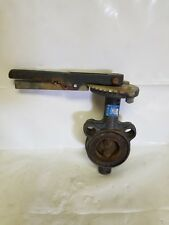 """Milwaukee Butterfly Valve, Wafer, CW223 E, 2"""" Lever Handle, EPDM, 200 PSI"""