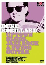 Duke Robillard Uptown Blues Jazz Rock & Swing Guitar DVD NEW 014027500