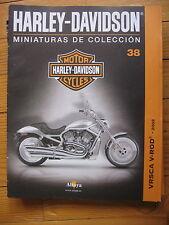 FASCICULE 38  MOTO COLECCION HARLEY DAVIDSON VRSCA V ROD 2002