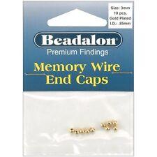 Beadalon Memory Wire End Caps 3mm - 249579