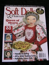 SOFT DOLLS & ANIMALS JULY 2005 doll patterns, techniques, tips, magazine