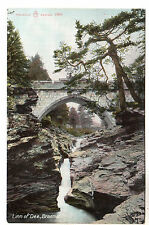Linn of Dee - Braemar Photo Postcard c1905