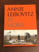 Annie Leibovitz At Work Rolling Stone Photographer Rare Signed Autograph Book