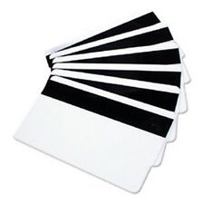 10 Blank Mag Strip ID Cards 1/2'' HiCo 3 Track Inkjet Printable PVC Card