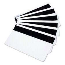 4 Blank Mag Strip ID Cards 1/2'' HiCo 3 Track Inkjet Printable PVC Card