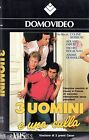 Tre uomini e una culla (1986) VHS 1a Ed. Domovideo Colin Serrau Roland Girud