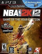PlayStation 3 : NBA 2K12 GAME OF THE YEAR EDITION VideoGames