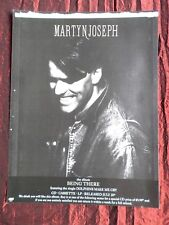 MARTYN JOSEPH  - MAGAZINE CLIPPING / CUTTING- 1 FULL PAGE ADVERT